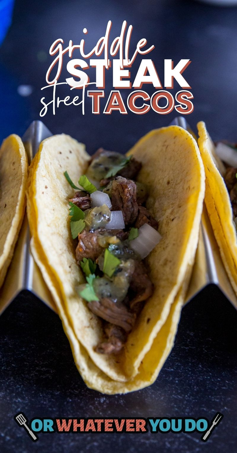 Griddle Steak Street Tacos