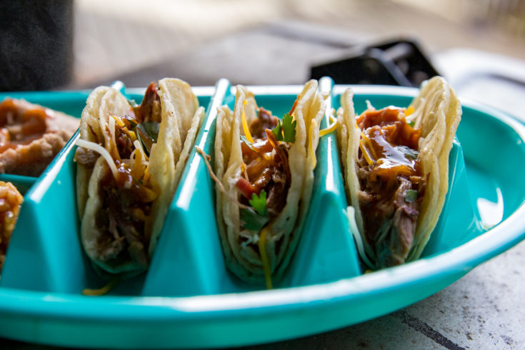 Smoked Shredded Beef Tacos