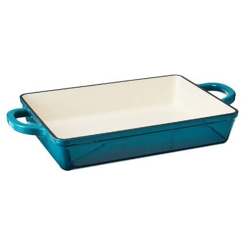Enameled Cast Iron Lasagna Pan