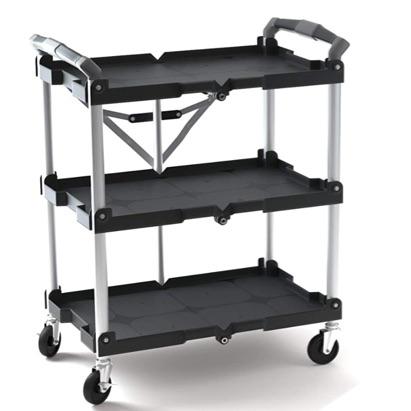 Folding Collapsible Prep Cart