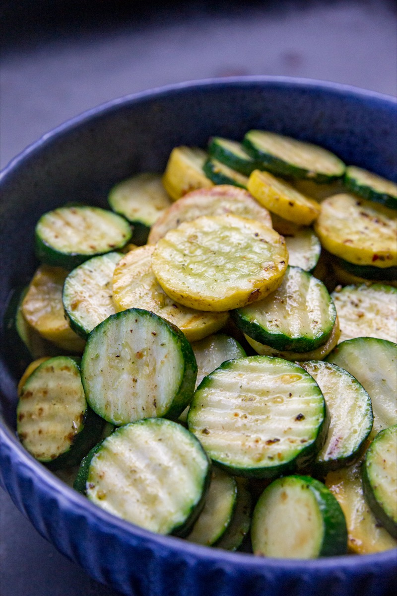 Blackstone Sliced Zucchini and Yellow Squash