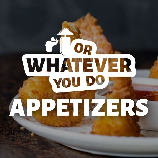 Click for appetizer recipes